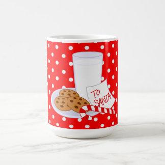 Christmas Morphing Mug/Milk and Cookies Magic Mug