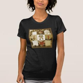 Christmas mosaic tshirts