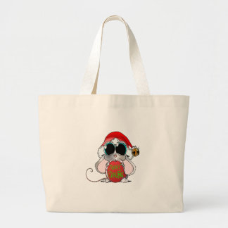Christmas Mouse Tote Bags