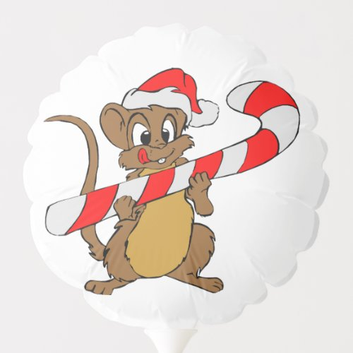 Christmas Mouse Balloon