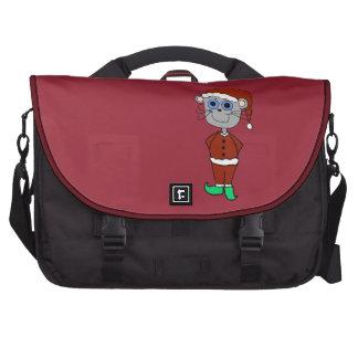 Christmas Mouse Cartoon Laptop Computer Bag