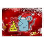 Christmas Mouse & Cheese Cards