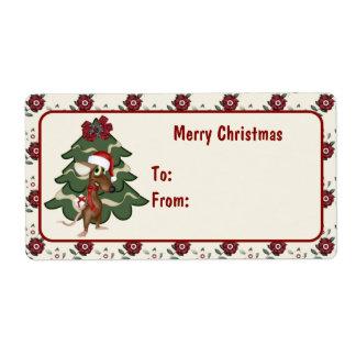 Christmas Mouse  Christmas Tags