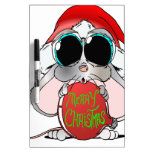 Christmas Mouse Dry-Erase Whiteboards