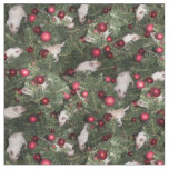 Christmas Mouse Fabric