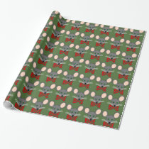 Christmas Mouse Giftwrap Wrapping Paper