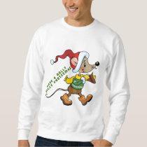 Christmas Mouse Holiday mens Sweatshirt