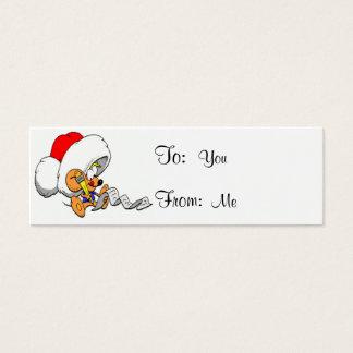 Christmas Mouse Mini Business Card