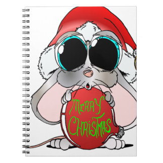 Christmas Mouse Notebooks