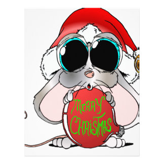 Christmas Mouse Personalized Letterhead