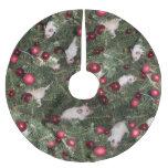 Christmas Mouse Tree Skirt - Big Print