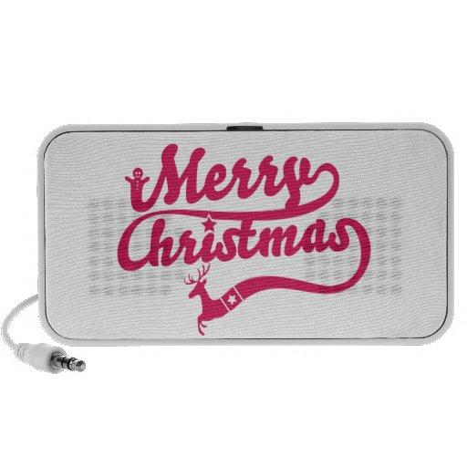 Christmas Mp3 Speakers