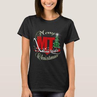 CHRISTMAS MT  Massage Therapist T-Shirt