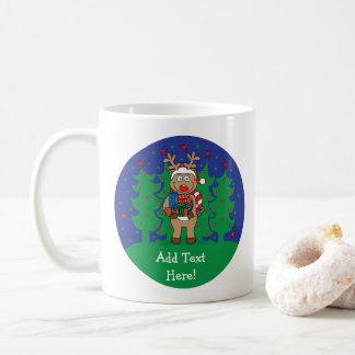 Christmas Mug 11 oz. Rudolph/Got Gifts Personalize