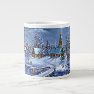 Christmas mug 20 oz large ceramic coffee mug