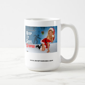 Christmas Mug Gift Safety Pin Up