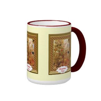 Christmas mug Golden tree