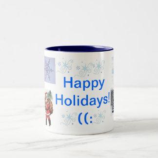 Christmas Mug~Happy Holidays