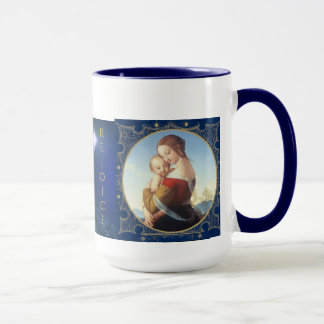 "Christmas Mug ""Madonna And Child"""
