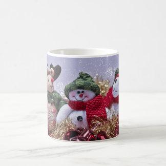 Christmas Mug - Reindeer, Snowman, Bear