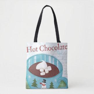 Christmas Mug with Hot Chocolate Tote Bag
