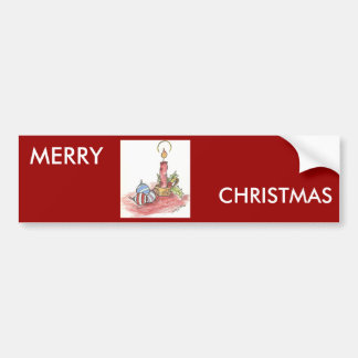Christmas - multiple products car bumper sticker