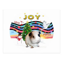 Christmas Music1-Guinea Pig 1 Postcard