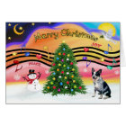 Christmas Music 2 - Australian Cattle Dog 1 Card
