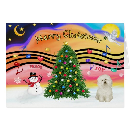 Christmas Music 2 - Bolognese Greeting Cards