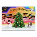 Christmas Music 2 - Cavalier (Blenheim F) Card