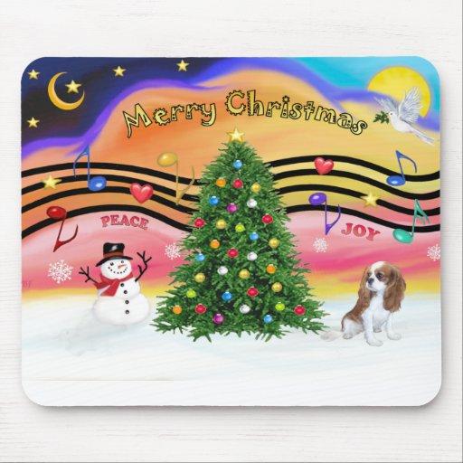Christmas Music 2 - Cavalier (Blenheim F) Mouse Pads