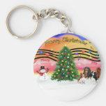Christmas Music 2 - Cavaliers (four) Keychains