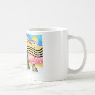 Christmas Music 2 - Cesky Terrier (light coffee) Mug