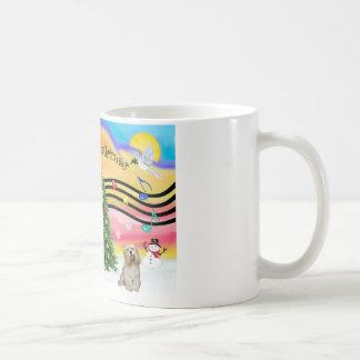 Christmas Music 2 - Cocker (Buff) Coffee Mug