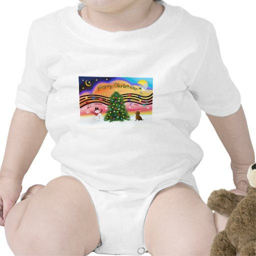 Christmas Music 2 - Dachshund (  ) Tee Shirt