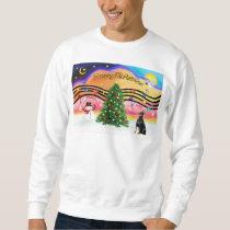 Christmas Music 2 - Doberman 1 Sweatshirt