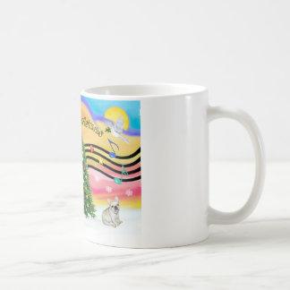 Christmas Music 2 - French Bulldog 1 Coffee Mug
