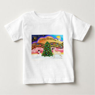 Christmas Music 2 - Great Dane (fawn stand) Tees