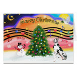 Christmas Music 2 - Great Dane (Harlequin) Cards