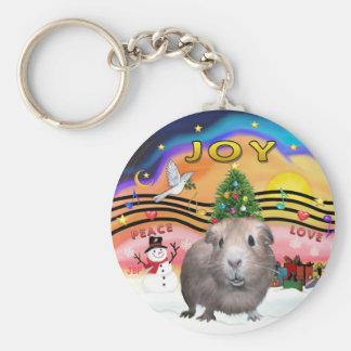Christmas Music 2 - Guinea Pig 2 Keychain