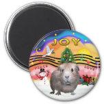 Christmas Music 2 - Guinea Pig 2 Refrigerator Magnet