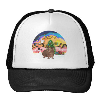 Christmas Music 2-Guinea Pig 3 Mesh Hat