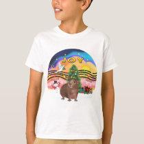 Christmas Music 2-Guinea Pig 3 T-Shirt