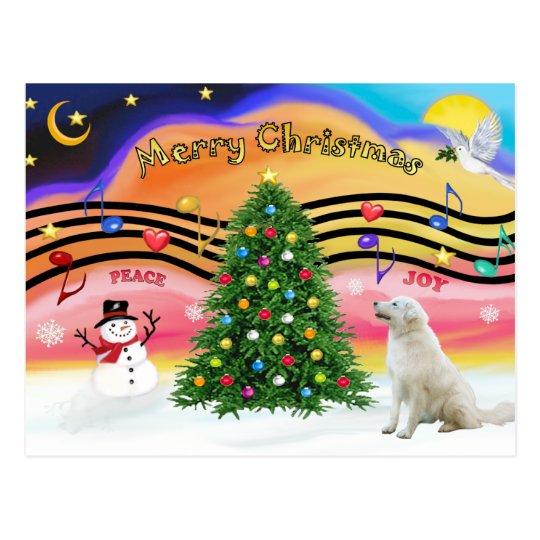 Christmas Music 2 - Kuvacz Postcard