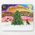 Christmas Music 2 - Manchester Terrier Mouse Pad