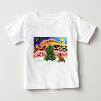 Christmas Music 2 - Nova Scotia Duck Tolling Retri Baby T-Shirt