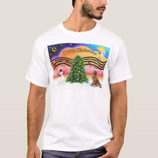 Christmas Music 2 - Nova Scotia Duck Tolling Retri T-Shirt
