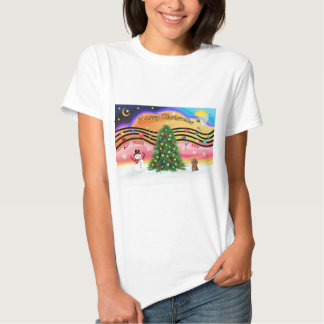 Christmas Music 2 - Poodle (Apricot Toy) T-shirt
