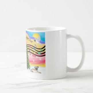 Christmas Music 2 - Pug puppy (ld) Coffee Mug