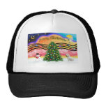 Christmas Music 2 - Sealyham Terrier Mesh Hats